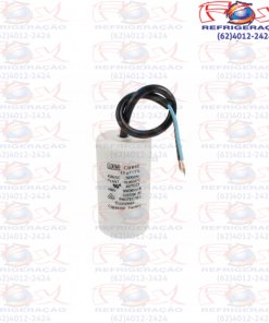 Capacitor Fase 15UFX 250V Com Fios(B-01)